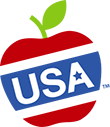 USA Apples Logo