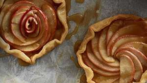 Apple Caramel Galette